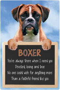 Boxer dog sign BOXERS signs faithful friend like you dog quote wall hanging dogs