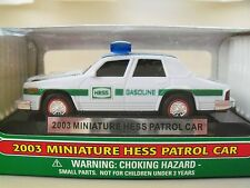 2003 MINIATURE HESS PATROL CAR - NEW IN BOX