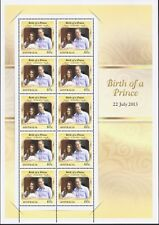 2013 Australia - Royal Baby - Birth of Prince George Sheetlet MUH