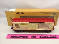 "Lionel 6-9429 Joshua Lionel Cowen Boxcar ""The Early years"""
