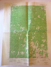 Vintage 1963 Topographic Folded Map Schaffer Michigan