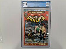 Tomb Of Dracula #1 CGC 7.5 April 1972 1st App Of Dracula