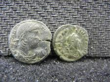 New listing 2 Small Roman Bronze Coins Loaded With Details Lot 429