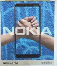 Nokia 3.1 PLUS DUAL SIM GRIGIO 16gb 6 pollici display LTE WhatsApp WLAN 13 MPX FOTOCAMERA
