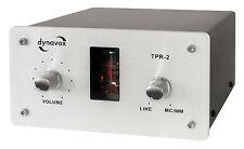 DYNAVOX TPR-2 - SOUND CONVERTER Röhrenvorstufe Phonovorverstärker SILBER TPR2