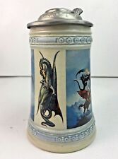 Boris Vallejo Fantasy Art / Barbarian - Dragon Beer Stein / Game Of Thrones