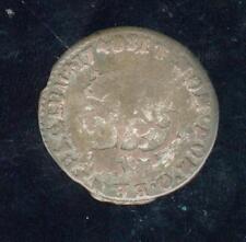 Louis XV double sol de Billon  1740 O Riom