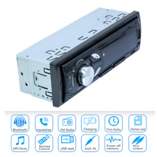 1 Din Bluetooth Car Stereo Audio In-Dash Fm Aux Input Sd Usb Mp3 Radio Player