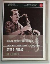 MICHAEL BRECKER - MIKE MAINIERI - ELIANE ELIAS -Steps Ahead: In Europe (DVD) NEW