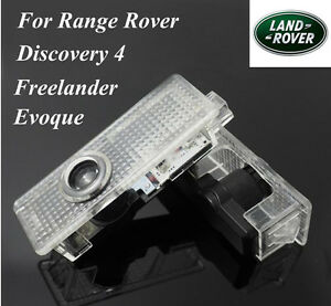 2x LED Door Spot Lights for Land Rover 4 Discovery 4 Range Rover Evoque Freeland