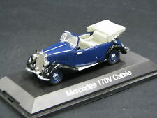 Schuco Mercedes-Benz 170 V Cabrio 1:43 Blue / Black (JS)