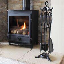5 Pieces Log Burner Set Fireside Companion Fire Tool Kit Fireplace Accessories