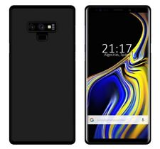 Funda de gel TPU para Samsung Galaxy Note 9 color negra