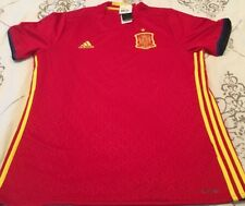 Spain España Mens National Team Soccer Football Adidas XL Extra Large Jersey NWT