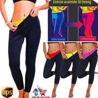 Sweat Sauna Body Shaper Slimming Pants Thermo Neoprene Gym Weight Loss USPS N075