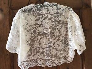 wedding lace bolero cream/ivory