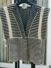 100% Authentic See by Chole Virgin Wool-Blend Knit Vest US4 or EU36
