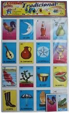 "MEGA Loteria Mexican Bingo SUPER SIZED Boards 25"" X 18"""