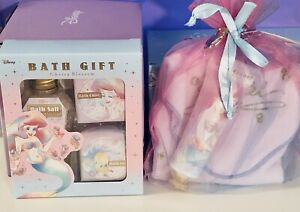 Disney Princess Ariel Bath Salt Body Lotion Perfume GIFT SET Japan