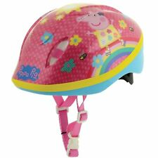 PEPPA PIG SAFETY HELMET LIGHTWEIGHT STRONG CHILDRENS 48cm-54cm AGES 3+