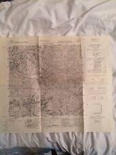 Cartina Militare Del Comune Di Ardesio (bg), Anno 1933