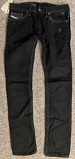 NEW NWT AUTHENTIC DIESEL THANAZ JEANS BUTTON FLY MENS 30 0601K SLIM-SKINNY