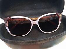 Fly Girls Sunglasses Custom Handmade Fly Cabana     Lavender Brown