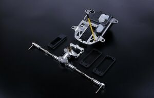 1/5 baja cnc symmetric turn symmetric steering set for hpi km rovan baja 5b ss