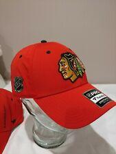 Chicago Blackhawks Fanatics Branded Authentic Pro Rinkside Speed Flex Hat - Red