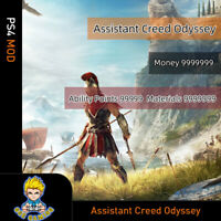 Assassin's Creed Odyssey(PS4 Mod) Max Level/Money/Skill points/All resources