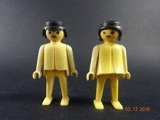 Vintage 1974  Geobra Playmobil Figures Lot of 2