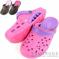Ladies / Womens Summer / Garden / Beach / Holiday / Hospital Clogs / Sandals