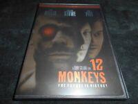 12 Monkeys (1995 Film) *LIKE NEW/SHIPS FREE* (Brad Pitt/Bruce Willis/DVD/2005)