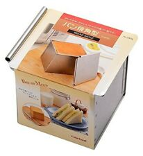 Tiger crown Steel Square Bread Mold with Lid baking pan 2375 from Japan