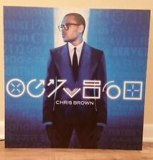 Chris Brown - Fortune display poster board * Rare! promo only