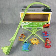 SESAME STREET Baby Mobile Musical Plush Figures Boy Girl Nursery Room Crib Boxed