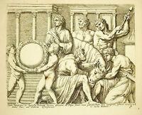 Opfer Eines Stier Stiers: Villa Medici François Perrier 1645