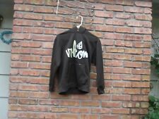 Volcom Pullover Hoodie Brown Embroidered Letters Size Medium