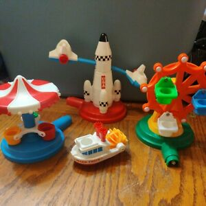 VINTAGE DISNEYLAND PLAYSET 1986 PLAYMATES DISNEY Toy Replacement pieces ONLY