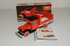 Y VINTAGE LEGO SYSTEM 317 TRUCK RED EXCELLENT BOXED