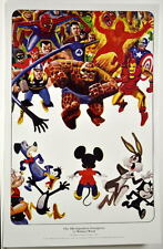 The 60's SUPERHERO INSURGENCE PRINT by Wally Wood Marvel DC Disney Looney Tunes