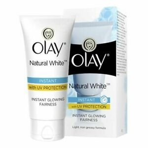 Olay Natural White Instant Glowing Fairness Cream 40g With UV Protection