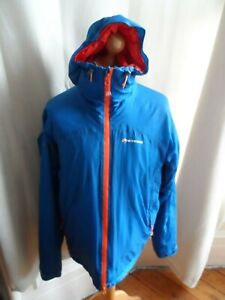 """MONTANE MENS MINIMUS HYBRID INSULATED MOUNTAIN JACKET -SIZE XL 44"""" EXCELLENT"""