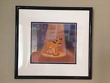 "New Ltd. Ed. Disney Sericel, ""SIMBA'S SPOTLIGHT"""