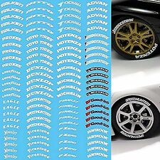 Reifen Beschriftung Tires Labeling #3 - 1:18 Decal Abziehbilder