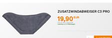 Schuberth Windabweiser Zusatzwindabweiser C3 / Pro S2 Sport E1 wind deflector
