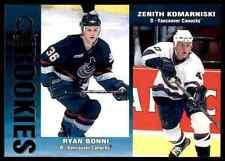 1999-00 Pacific Omega Ryan Bonni , Zenith Komarniski #238