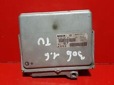 CITROEN SAXO PEUGEOT 106 306 1.6i CALCULATEUR MOTEUR ECU 9624935980 0261204052