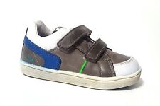 New $80 BUNNIES JR Shoes Toddler Boys LEATHER European Blue Size 7 USA/23 EURO