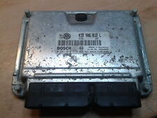 VW Skoda Seat ecu immo off/ removed 038906012L 0281010112  EDC15p+ plug and play